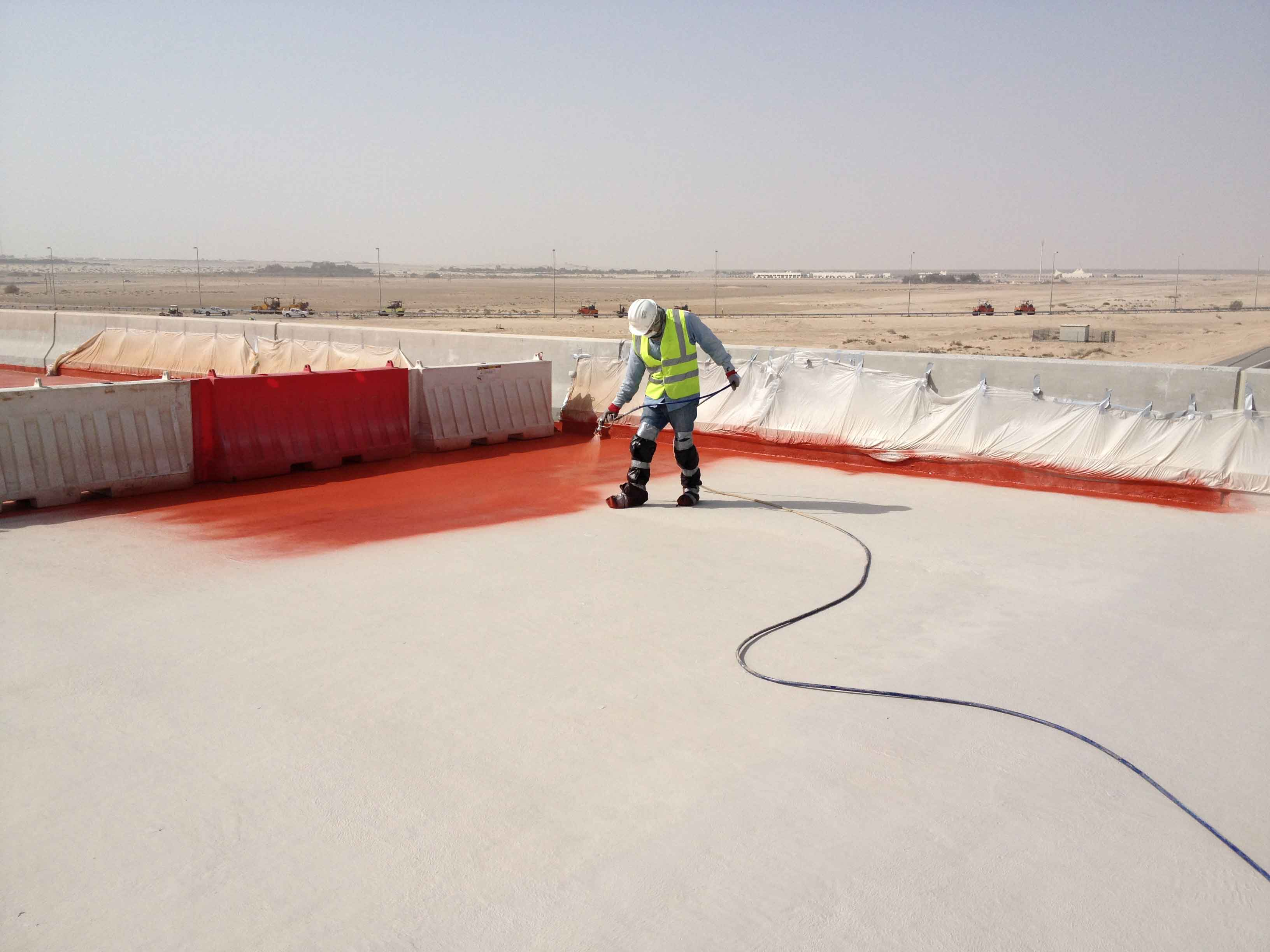 Bridge-Deck Waterproofing